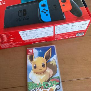 Nintendo Switch - Nintendo Switch JOY-CON(L)(R)ソフト完備 中古動作品