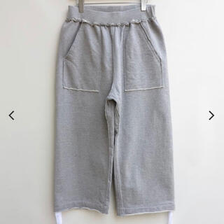 コモリ(COMOLI)の美品 MAINU 21SS WIDE SWEAT PANTS(その他)