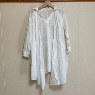 ローズバッド(ROSE BUD)のローズバッド 変形シャツ(シャツ/ブラウス(長袖/七分))