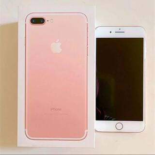 iPhone - Apple iPhone7 plus 32GB ローズゴールド