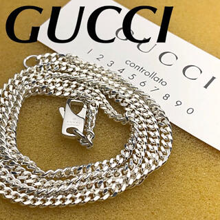 Gucci - 美品 GUCCI 2.5㍉ 喜平チェーンネックレス