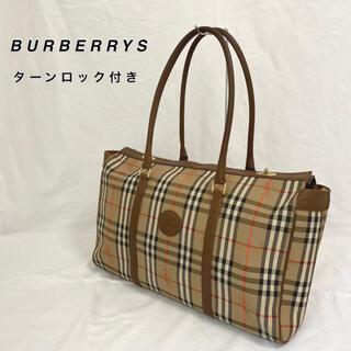 BURBERRY - 【BURBERRYS】ボストンバック ノバチェック ヴィンテージ