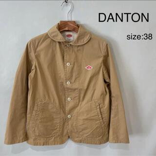 ダントン(DANTON)のDANTON ダントン ジャケット テーラードジャケット ベージュ 36 日本製(テーラードジャケット)