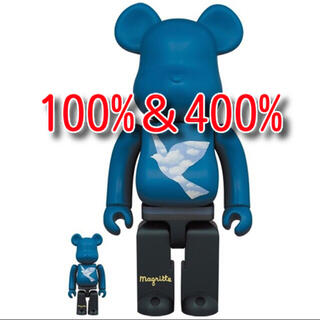 MEDICOM TOY - BE@RBRICK × René Magritte 100%&400% まぼろし