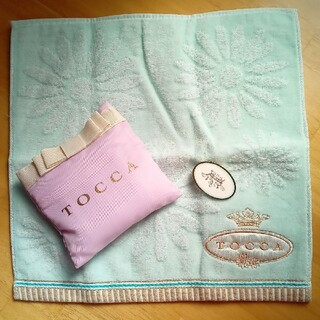 TOCCA - TOCCA タオルハンカチ エコバッグ