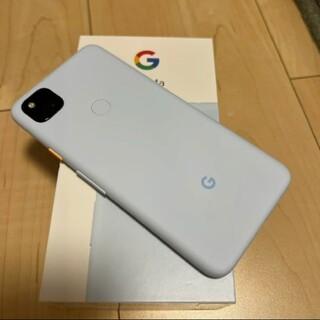 Google Pixel - pixel4a(Berely Blue)SIMフリー