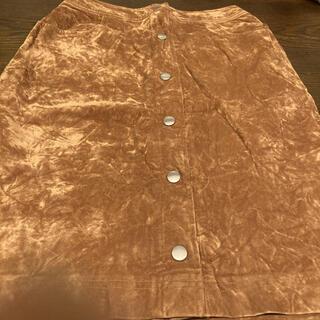 フェリシモ(FELISSIMO)のフェリシモ レーヨン冬用スカート(ひざ丈スカート)