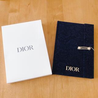 ディオール(Dior)のDior ノベルティノートブック(ネイビー) (ノベルティグッズ)