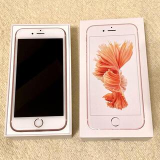 Apple - apple iphone 6s  64GB ローズゴールド