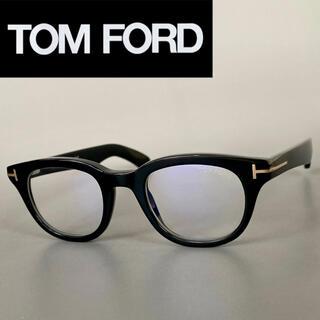 トムフォード(TOM FORD)のメガネ トムフォード ウェリントン ブラック ゴールド 黒 金 バネ蝶番(サングラス/メガネ)
