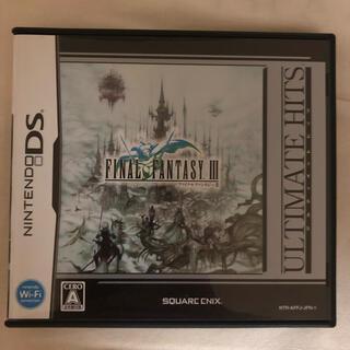 ニンテンドーDS - 【DS】ファイナルファンタジー III ULTIMATE HITS