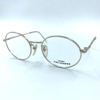 SEIKO - 495 SEIKO THE LEAGUE メタル眼鏡フレーム 50サイズセイコー