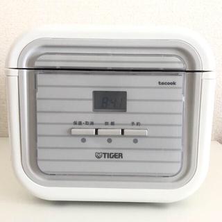 タイガー(TIGER)のタイガー魔法瓶 JAJ-A552(WS) 炊飯器 3合 ホワイト 19年式(炊飯器)