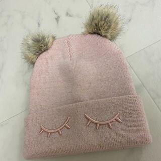 エイチアンドエム(H&M)のキッズニット帽(帽子)