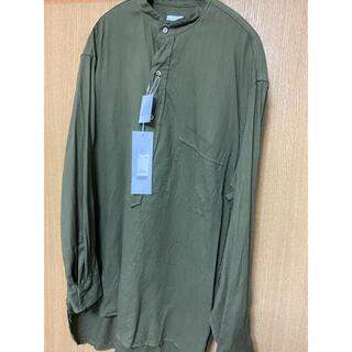 コモリ(COMOLI)のcomoli 21ss ベタシャンプルオーバーシャツ(シャツ)