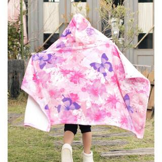 レディー(Rady)のRady トロピカル フラワー トロピン フード付 ブランケット 毛布(おくるみ/ブランケット)