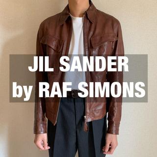 Jil Sander - JIL SANDER by RAF SIMONSレザージャケット