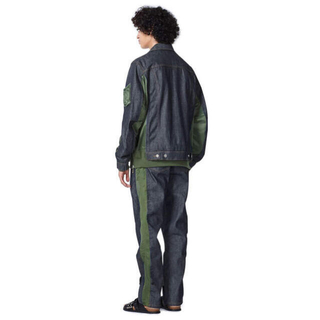 サカイ(sacai)のsacai apc ma1 denim emi jaket 新品 S(Gジャン/デニムジャケット)