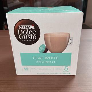 ネスレ(Nestle)のネスカフェ ドルチェグスト カプセル カフェラテ フラットホワイト(コーヒー)