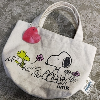 iiMK -  ♡iimk × ヴィンテージ スヌーピー♡  ミニトートバッグ