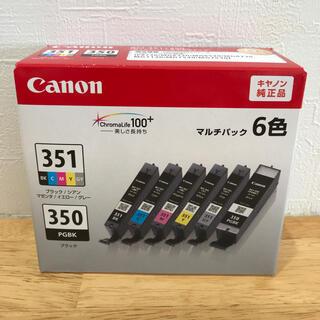 Canon - 【新品未開封】キャノン BCI-351+350/6MP  キャノン純正インク