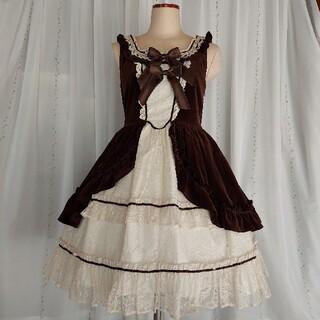 BABY,THE STARS SHINE BRIGHT - Antique Lace Doll ドレスジャンパースカート&カチューシャ