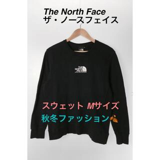 ザノースフェイス(THE NORTH FACE)のThe North Face ザ・ノースフェイス スウェット 黒 レディース(トレーナー/スウェット)