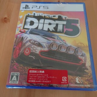 PlayStation - 【新品未開封】DIRT 5  ダート5 PS5