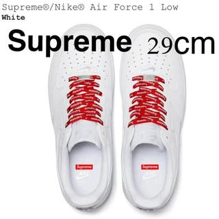 Supreme - ☆Supreme✖️NIKE エアフォース1☆White☆29cm☆