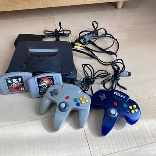 ニンテンドウ64(NINTENDO 64)のNintendo64セット(家庭用ゲーム機本体)