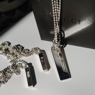 Gucci - GUCCI ネックレス 三種