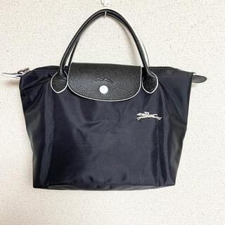 LONGCHAMP - 【美品】LONGCHAMP ハンドバッグ ブラック