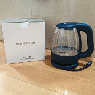 Marie Claire - marie claire 電気ケトル1.2L LEDタイプ