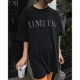アメリヴィンテージ(Ameri VINTAGE)のPRIMITIVE RUBBER TEE Tシャツ(Tシャツ/カットソー(半袖/袖なし))