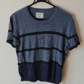 ステュディオス(STUDIOUS)のSTUDIOS  ニットTシャツ(ニット/セーター)