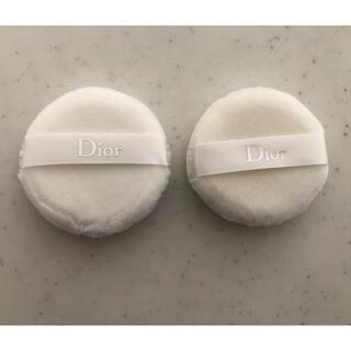 ディオール(Dior)のディオール ルースパウダー パフ 2個(パフ・スポンジ)
