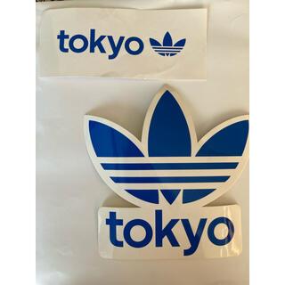 アディダス(adidas)のadidas TOKYO限定ステッカー 2枚セット(ノベルティグッズ)