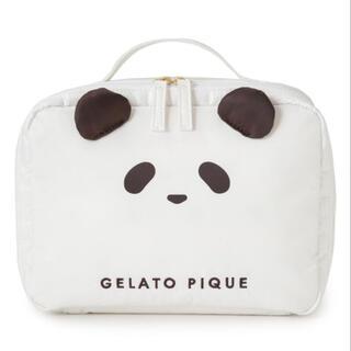 ジェラートピケ(gelato pique)のgelato pique パンダおむつポーチ(ベビーおむつバッグ)