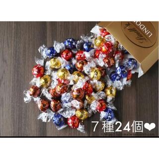 ☻ お試し❣️コストコ リンツリンドール チョコレート7種類 合計24個