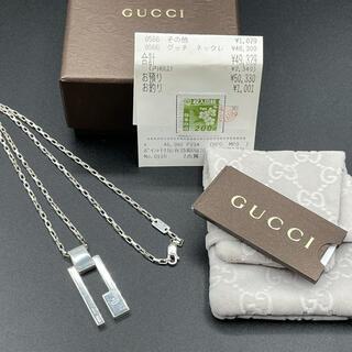 Gucci - 正規品◆GUCCI★Gプレートネックレス