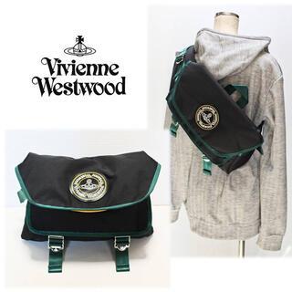 Vivienne Westwood -  《ヴィヴィアンウエストウッド》新品 コーデュラナイロン 大きめ ボディバッグ