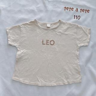 フタフタ(futafuta)のバースデイtete a teteテータテート 星座Tシャツ 獅子座LEO 110(Tシャツ/カットソー)