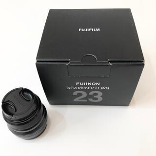 富士フイルム - 【美品・新同品】XF23mm F2 R WR ブラック フジノンレンズ