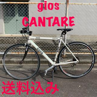 ジオス(GIOS)のクロスバイク gios cantare(カンターレ)配送可 送料込(自転車本体)