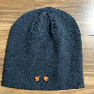アベイシングエイプ(A BATHING APE)のニット帽(ニット帽/ビーニー)