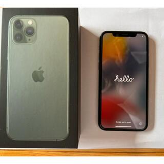 iPhone - 超美品★iPhone 11pro  本体 ミッドナイトグリーン 64GB