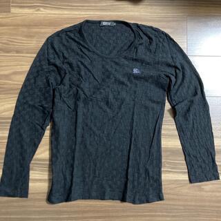 バーバリーブラックレーベル(BURBERRY BLACK LABEL)のバーバリートップス(Tシャツ/カットソー(七分/長袖))