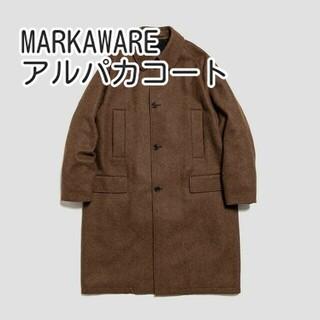 マーカウェア(MARKAWEAR)のMARKAWARE アルパカ コート RAGLAN MAC COAT marka(ステンカラーコート)