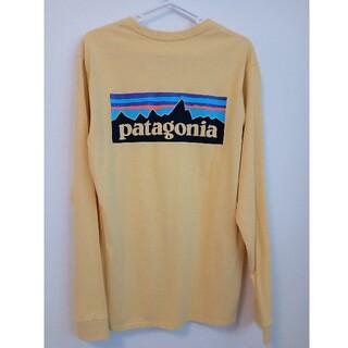 patagonia - patagonia ロングTシャツ イエロー