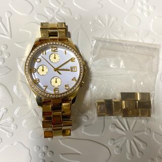 マークバイマークジェイコブス(MARC BY MARC JACOBS)のマークバイマークジェイコブス 時計 ゴールド(腕時計)